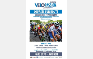 AVIGNON VELO PASSION COURSE SUR ROUTE